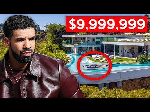 Inside Rappers Million Dollar Homes (Drake, Lil Pump & MORE!)