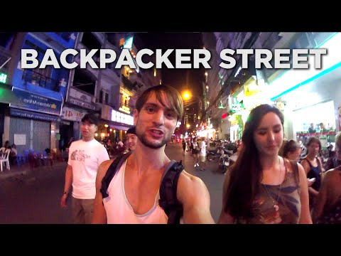 Vietnam's Crazy Backpacker Party Street | Bui Vien, Ho Chi Minh City Nightlife