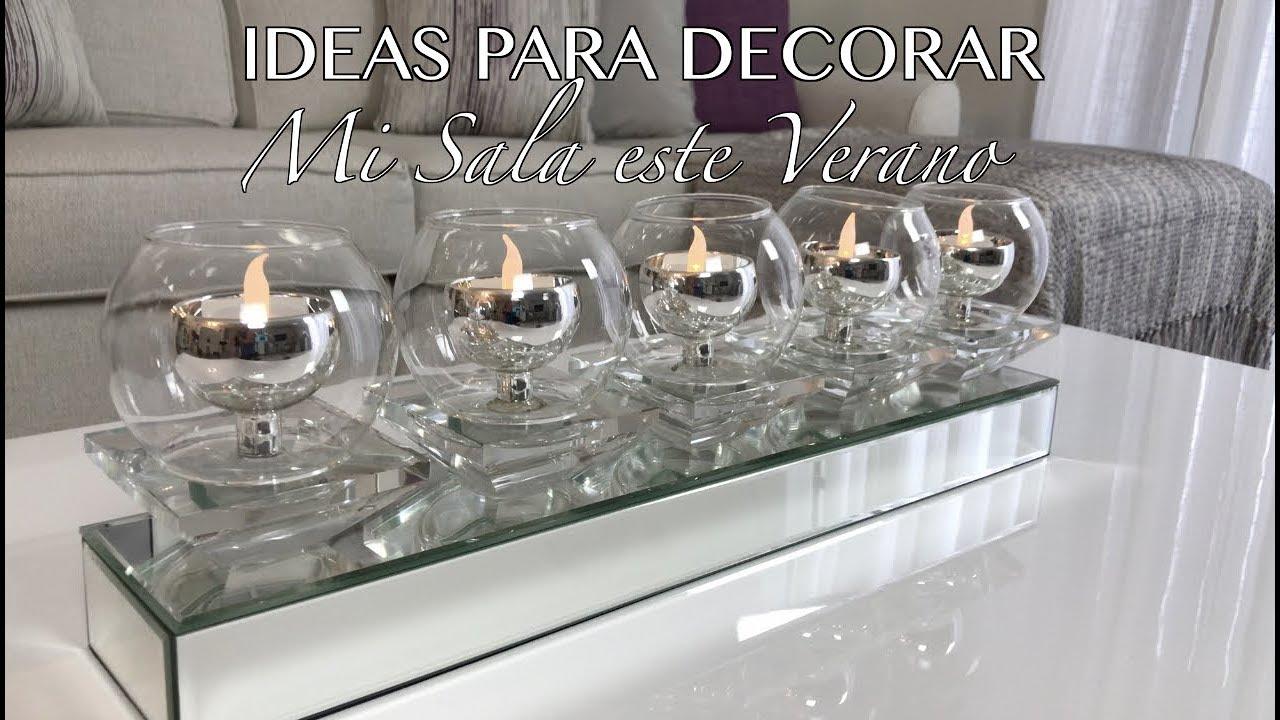 Ideas diy para decorar tu sala este verano decoracion - Ideas para decoracion ...
