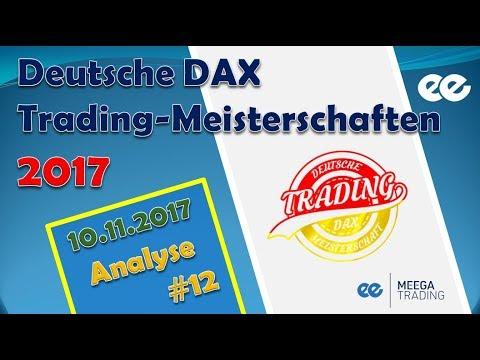 DAX Analyse 10.11.2017 - Marcus Klebe - Deutsche Trading Meisterschaften