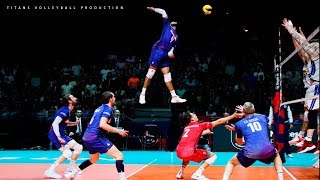 Most Amazing Spikes In Volleyball 2019 | HD