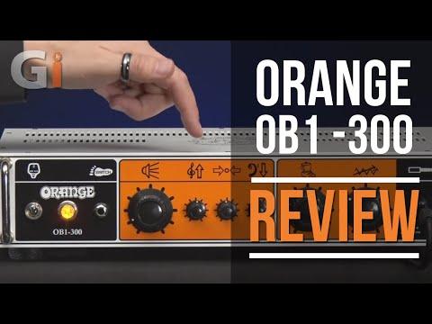 Orange OB1 - 300 Rack Mounted Bass Head Review   Guitar Interactive Magazine