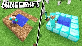 NOOB vs PRO WELL HOUSE in Minecraft!
