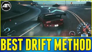 Need For Speed : NEW BEST DRIFTING METHOD!!! (How To Drift In NFS 2015)