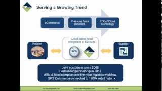 OzLINK for NetSuite - Overview of ASN with OzLINK and SPS Commerce - Presentation