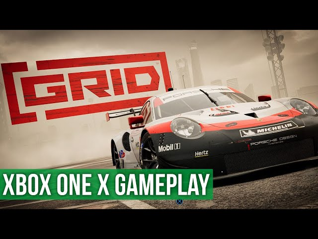 Grid - Xbox One X Gameplay / Preview