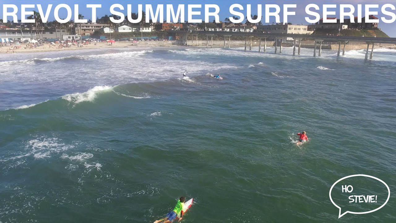 Revolt Summer Surf Series - Men's Final - Ocean Beach - July 16th