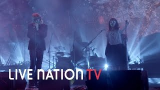 "The National ft. Lauren Mayberry Perform ""I Need My Girl"" at Treasure Island Music Festival"