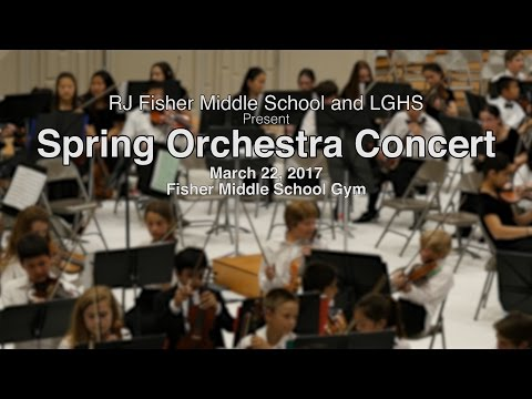 2017 SPRING ORCHESTRA CONCERT