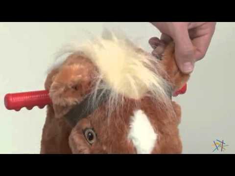 Tek Nek Toys Rockin Rider Lucky Talking Spring Horse - Product ...
