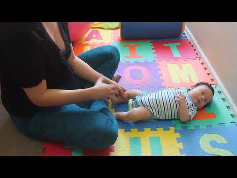Brain Gym Exercise for babies - Early Stimulation - Trisomy 21