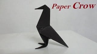 Origami Crow – How To Make Easy Origami Crow Step By Step Tutorial