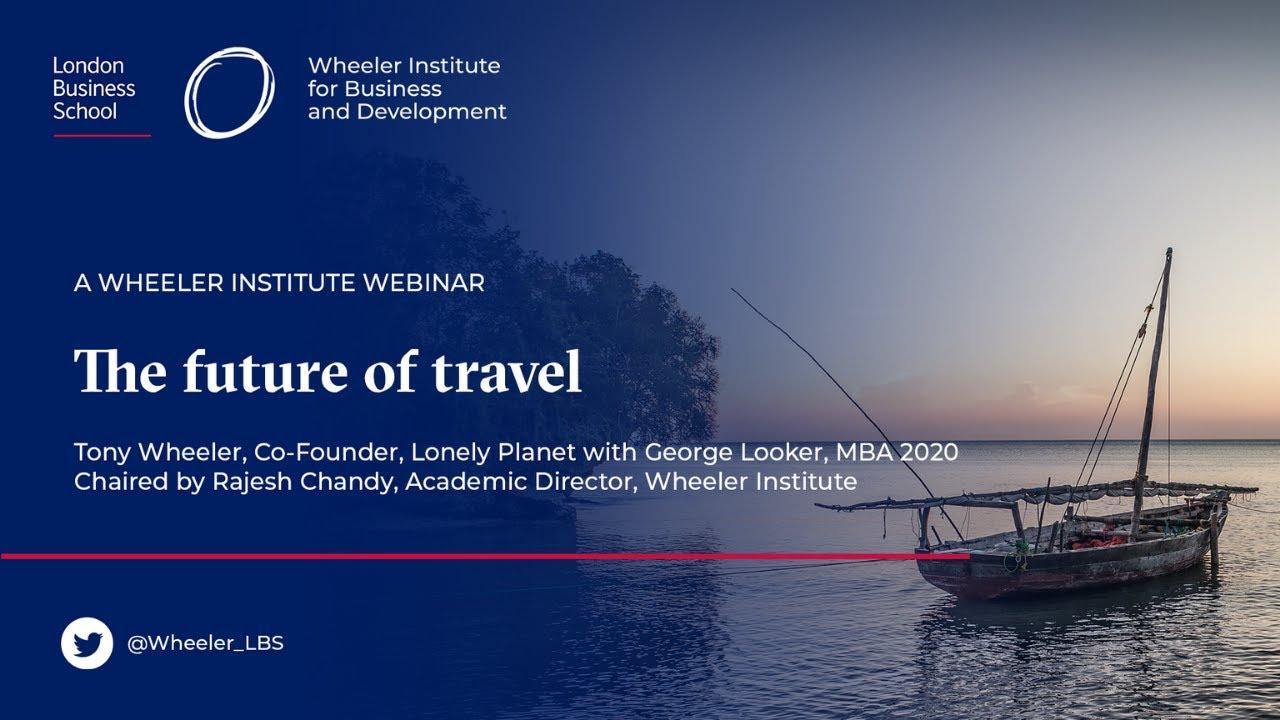 The future of travel - a talk with Tony Wheeler