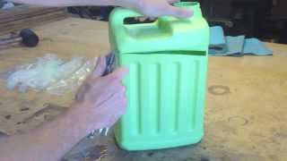 Experiments With HDPE Plastic - Part 1 (Recycle, Repurpose, Re-use)