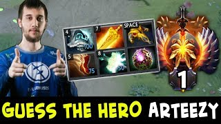 Guess the hero — Arteezy TOP-1 RANK edition
