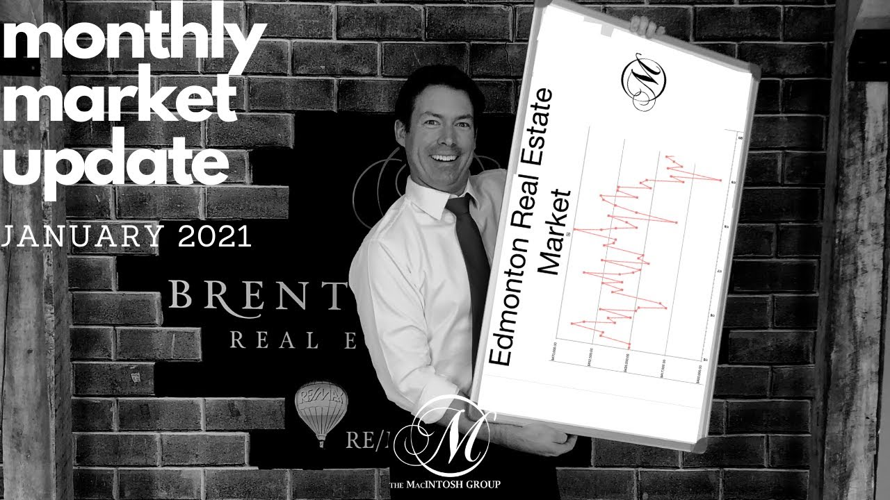 January 2021 Edmonton Real Estate Market Update (2020 Recap)