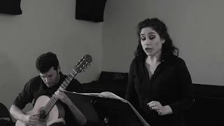 "Rinat Shaham / Nadav Lev :  Manuel de Falla: ""El Paño Moruno"", ""Asturiana "" ."