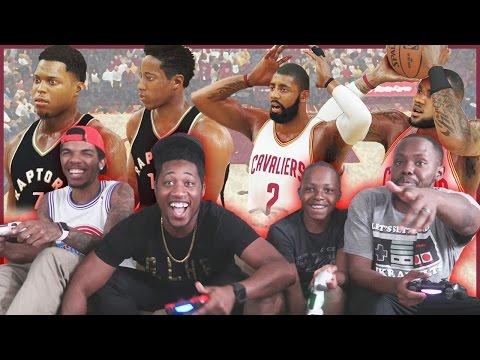 4 PLAYER TRASH TALK SERIES! - NBA 2K17 Gameplay