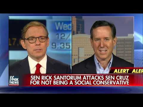 Santorum attacks Cruz for not being a social conservative