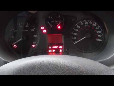 Peugeot Expert Citroen Jumpy Engine Start Warning Lights