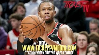 RODNEY HOOD (WITHOUT LEBRON) SAVES THE SEASON FOR THE BLAZERS AGAIN IN GAME 6 VS. NUGGETS! *NO VIDEO