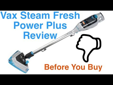 Vax Steam Fresh Power Plus Steam Cleaner S84-W7-P Review