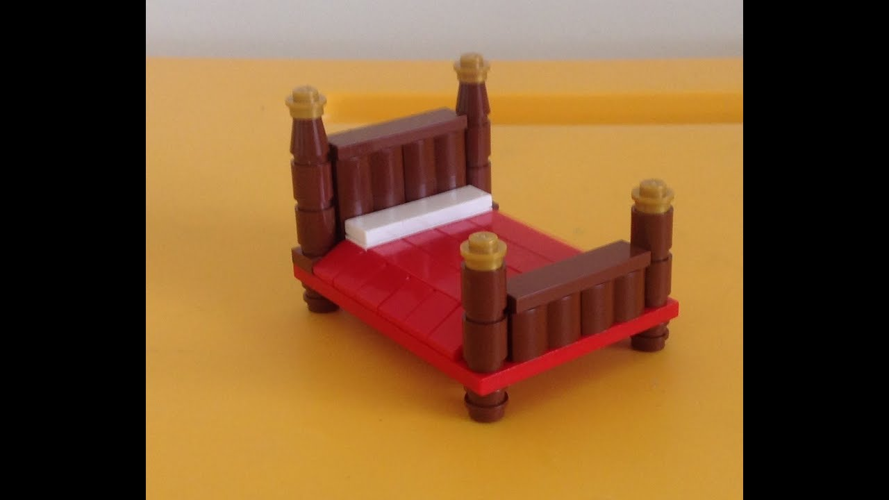 Como hacer una cama de lego - YouTube