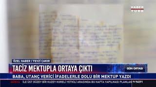 Taciz mektupla ortaya çıktı