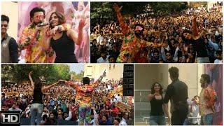 Ranveer Singh & Vaani Kapoor Launch Khulke Dulke Punjabi Number From Befikre