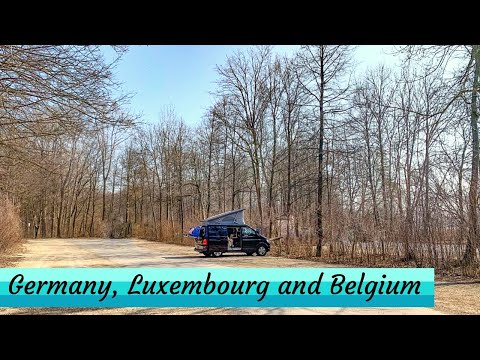 Germany, Luxembourg and Belgium All In One Video! - EuroTrip '19 Episode 7 (Ad)