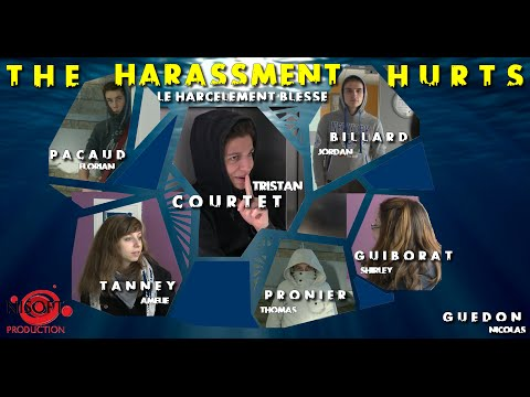 The harassment hurts