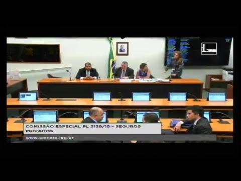 PL 3139/15 - SEGUROS PRIVADOS - Reunião de Instalação e Eleição - 22/08/2017 - 15:59