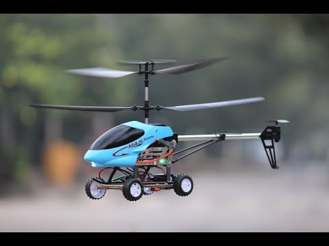 How To Make a Car - Car Helicopter