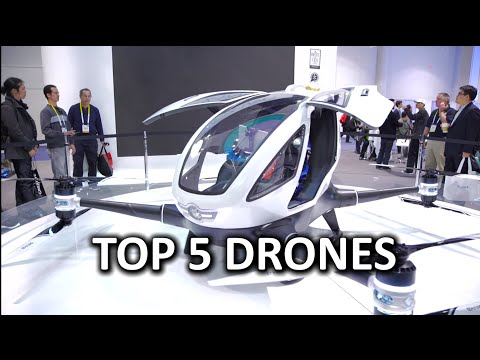 Top 5 Drones at CES 2016