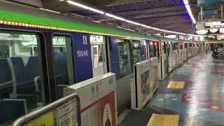 【ILLUMI GOLD号】浜松町駅発車《東京モノレール10000形 3/14 ダイヤ改正当日》