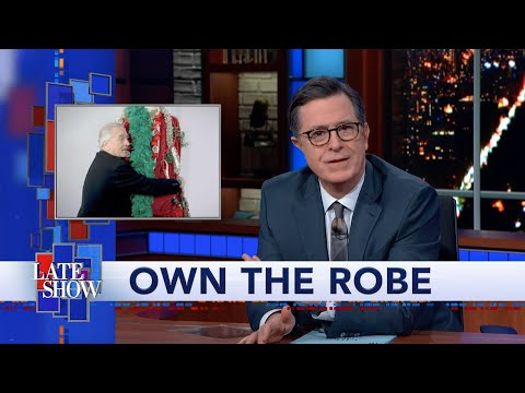 You Can Own Stephen Colbert's Celebrity-Designed Holiday Robe