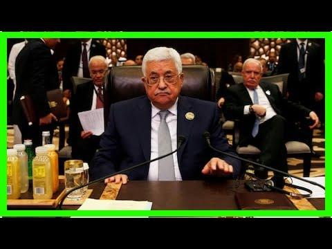 News 24/7 - The decision shatters the old guard Palestinian jerusalem Trumps