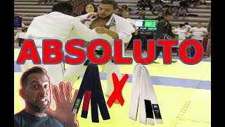 Faixa Preta X Faixa Branca - Campeonato Absoluto thumbnail