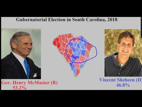 Gubernatorial Election Prediction in South Carolina, 2018