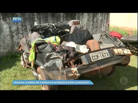 Cinco pessoas morrem por causa de racha entre caminhões