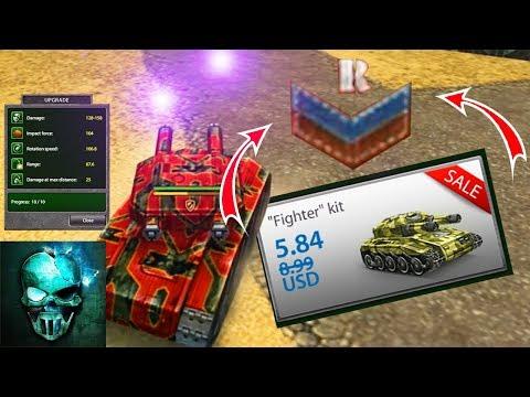 Tanki Online - Fighter Kit, Twins M1 and Hornet M1 at Recruit !! | M1 Kits at Recruit #2