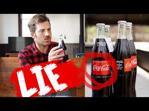 MEXICAN COKE IS A LIE