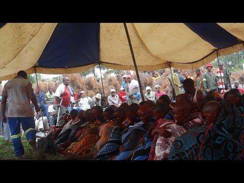 28 Dec 2013 Sterkspruit Basotho Initiates Graduation   Tsa Ntate Mohlomi Day 2 Part 1