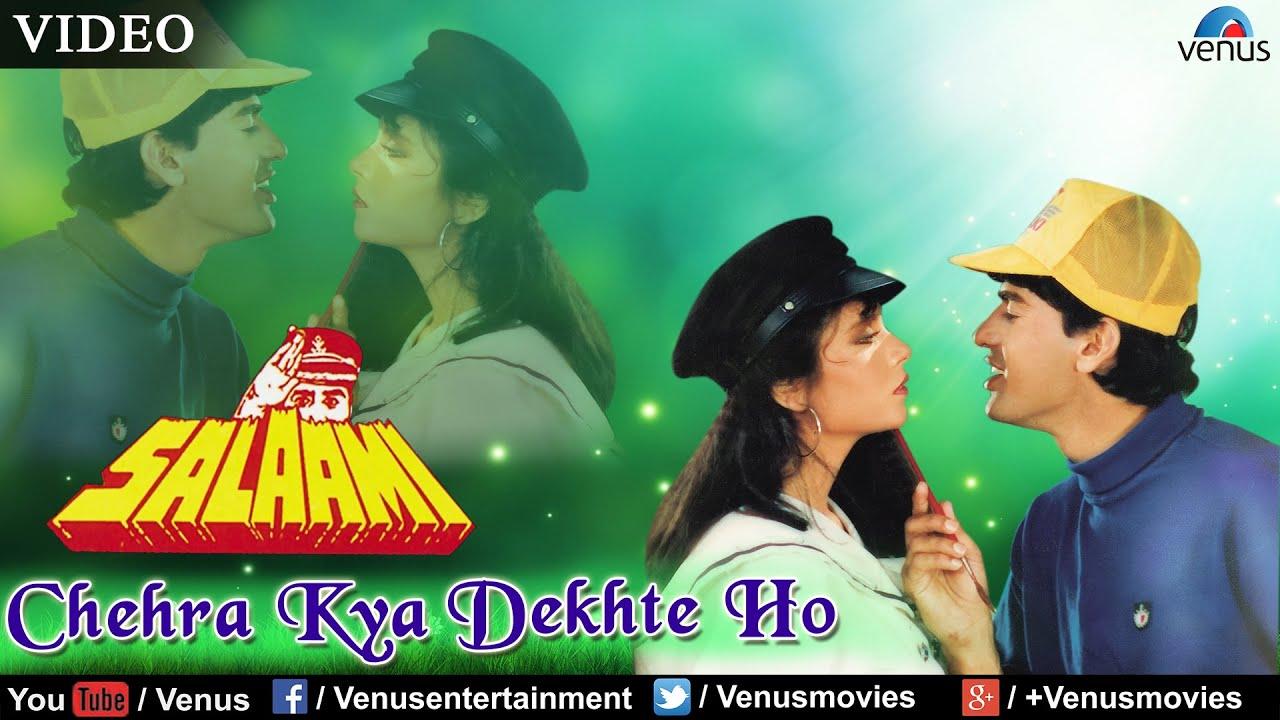 Chehra Kya Dekhte Ho Full Video Song | Salaami | Kumar Sanu & Asha Bhosle |  Ayub Khan & Samyukta
