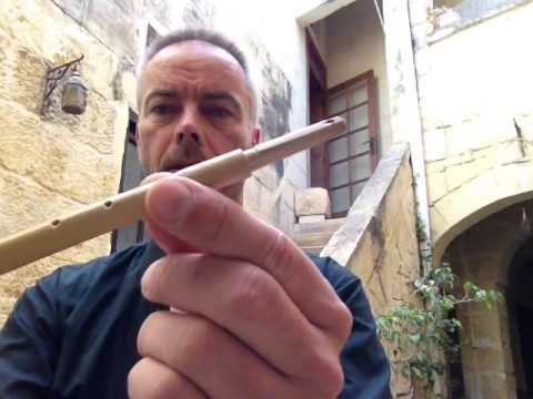 "How to make the traditional maltese reed pipe ""zummara"""