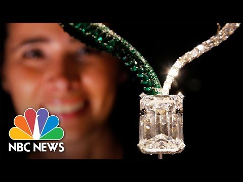 163-Carat Diamond Expected To Sell For $25-35 Million | NBC News