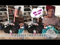 Look At All This Stuff?! Fashion Thrift Haul (Try On) - RushOurFashion