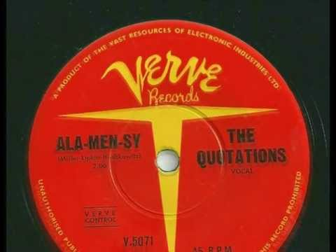 The Quotations - Ala Men Sy - 1961 - Verve V-5071 - (B Side to 'Imagination')