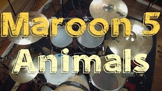 """Animals"" Maroon 5 (Drum Cover by Lars Nijman)"
