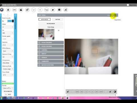 DigiCamControl - per la gestione remota della vostra Nikon